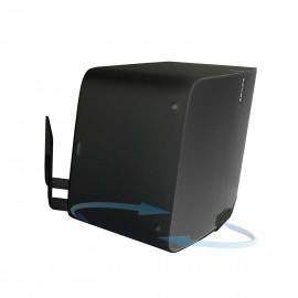 Vebos soporte pared sonos play 5 gen 2 giratorio 20 grados negro