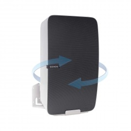 Vebos soporte pared sonos play 5 gen 2 giratorio blanco - vertical