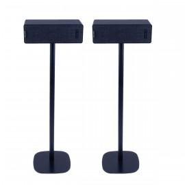Vebos Soporte de Pie para Ikea Symfonisk horizontal negro pareja