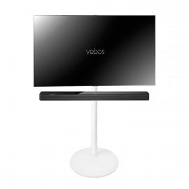 Vebos Soporte de Pie para televisión Bose Soundbar 500 blanco