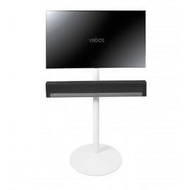 Vebos Soporte de Pie para televisión Sonos Playbar blanco