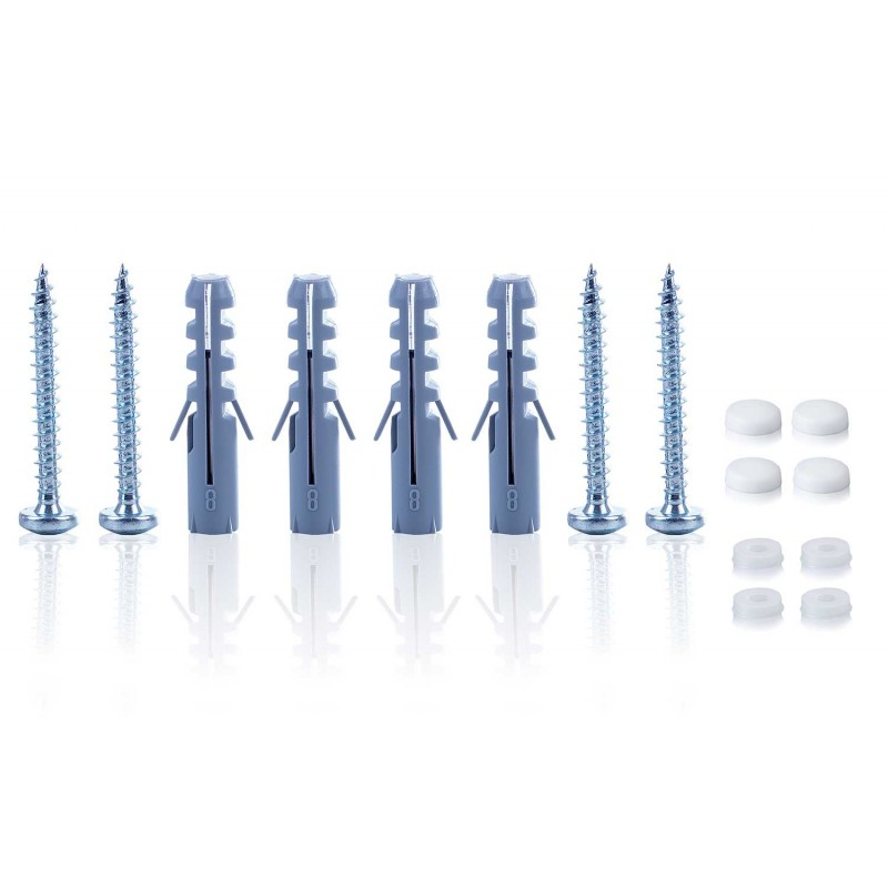 Vebos soporte pared sonos play 5 gen 2 giratorio blanco - vertical