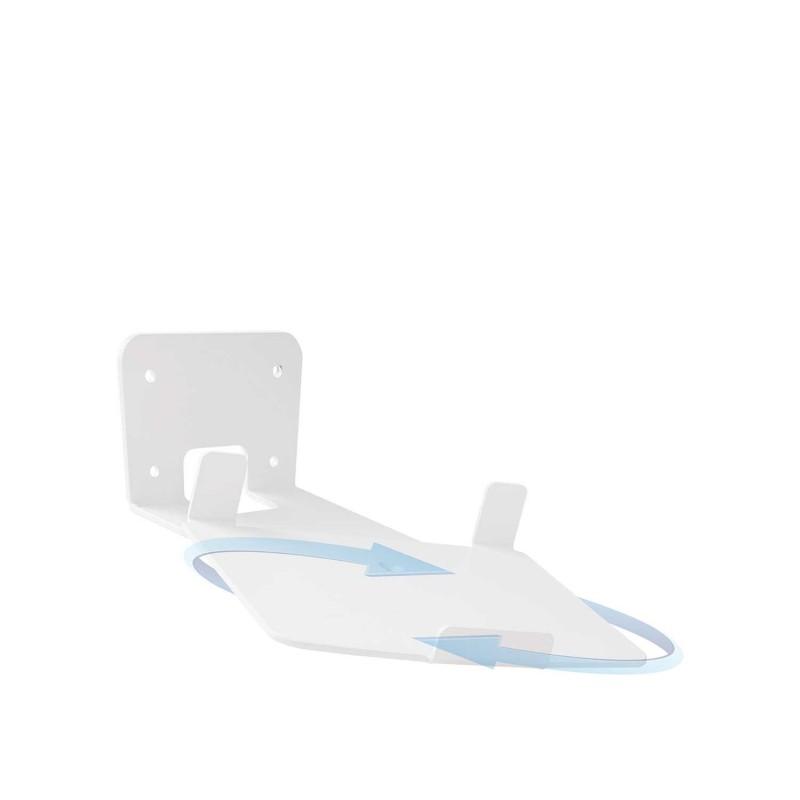 Vebos soporte pared sonos play 5 gen 2 giratorio 20 grados blanco
