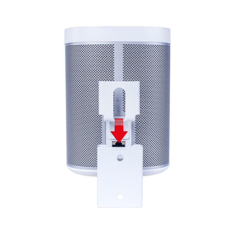 Vebos soporte portable pared sonos play 1 blanco