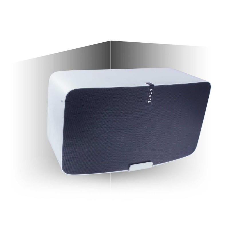 Vebos soporte pared de esquina sonos play 5 gen 2 blanco 20 grados