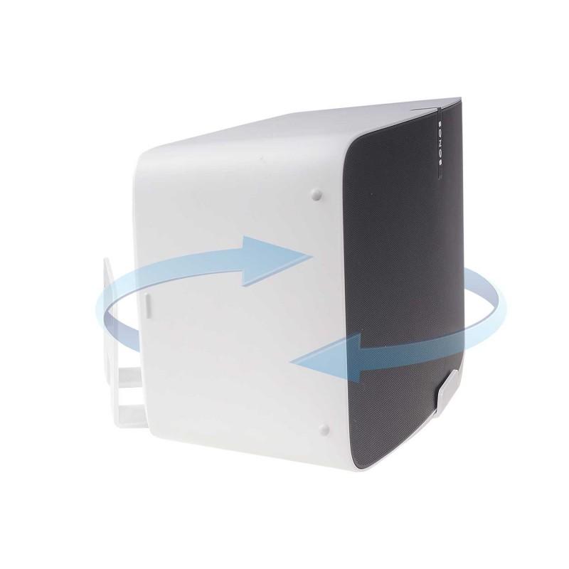 Vebos soporte pared sonos play 5 gen 2 giratorio blanco