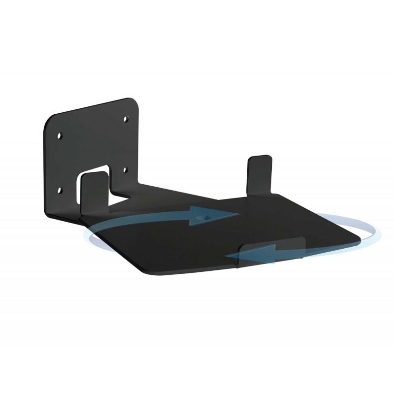 Vebos soporte pared sonos play 5 gen 2 giratorio negro