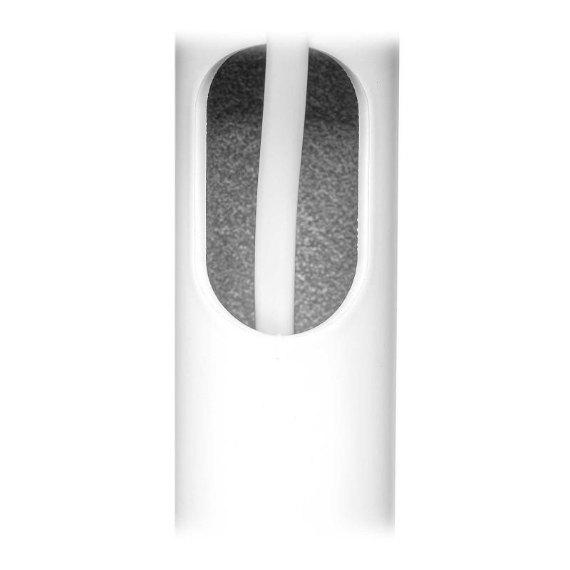 Vebos Soporte de Pie para Yamaha Musiccast 50 blanco pareja