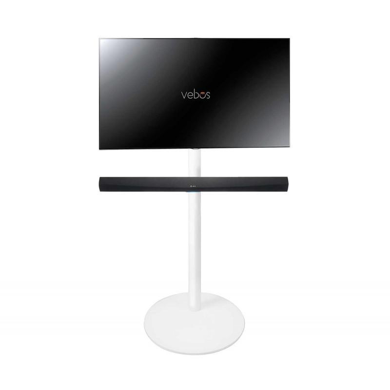 Vebos Soporte de Pie para televisión Denon HEOS Home Cinema Soundbar blanco