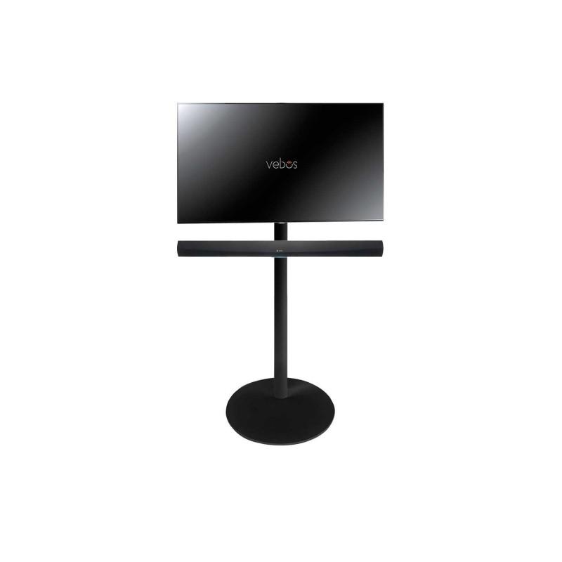 Vebos Soporte de Pie para televisión Denon HEOS Home Cinema Soundbar negro